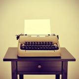 Máquina de escribir vieja Fotografía de archivo