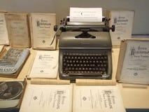 Máquina de escribir vieja Imágenes de archivo libres de regalías