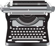 Máquina de escribir vieja Imagen de archivo
