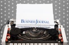 Máquina de escribir vieja foto de archivo libre de regalías