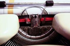 Máquina de escribir vieja Foto de archivo