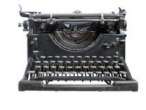 Máquina de escribir vieja aislada Fotos de archivo libres de regalías