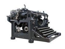 Máquina de escribir vieja aislada Imagen de archivo