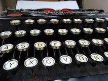 Máquina de escribir vieja clásica Imagen de archivo