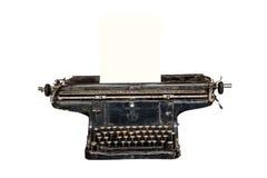 Máquina de escribir vieja oxidada Foto de archivo libre de regalías