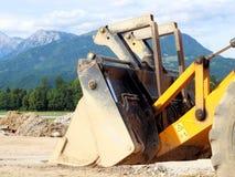 Máquina de excavación II Foto de archivo libre de regalías