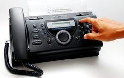 Máquina de fax Imagen de archivo libre de regalías
