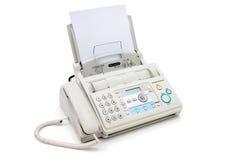 Máquina de fax Imágenes de archivo libres de regalías