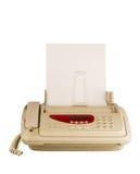 Máquina de fax de la tecnología Fotografía de archivo libre de regalías