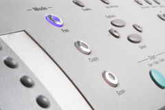 Máquina de fax de múltiples funciones fotos de archivo