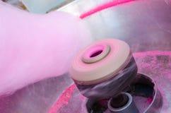 Máquina de floss dos doces fotografia de stock royalty free