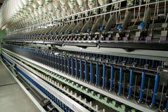 Máquina de giro do algodão Fotos de Stock Royalty Free