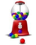 Máquina de Gumball Foto de archivo libre de regalías