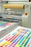 Máquina de impressão Foto de Stock