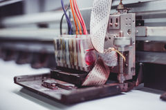 Máquina de impressão Imagens de Stock