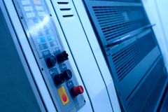 Máquina de impressão deslocada Imagem de Stock