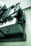 Máquina de impressão deslocada Fotografia de Stock Royalty Free