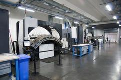 Máquina de impressão: imprensa de Web digital foto de stock