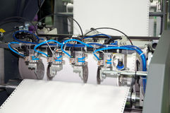 Máquina de impressão: imprensa digital imagens de stock