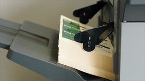 Máquina de impressão profissional filme