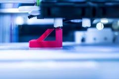 Máquina de impressão tridimensional Imagens de Stock Royalty Free