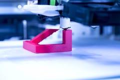 Máquina de impressão tridimensional Fotos de Stock