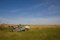 Máquina de la agricultura Fotografía de archivo libre de regalías