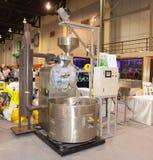 Máquina de la asación del café Fotografía de archivo