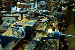 Máquina de la carpintería Imagen de archivo