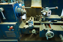 Máquina de la carpintería Fotos de archivo libres de regalías