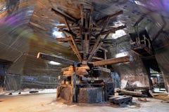 Máquina de la extracción de la sal imagen de archivo libre de regalías