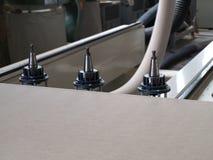 Máquina de la fabricación Foto de archivo