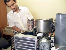 Máquina de la fijación del ingeniero Imagen de archivo