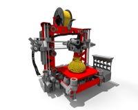 máquina de la impresora 3D Imagen de archivo