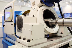 Máquina de la metalurgia fotos de archivo libres de regalías