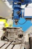 Máquina de la metalurgia fotografía de archivo libre de regalías