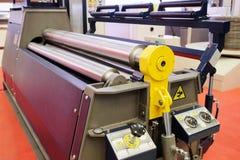 Máquina de la metalurgia foto de archivo