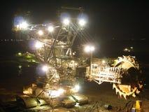 Máquina de la mina Fotos de archivo libres de regalías