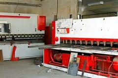 Máquina de la prensa del hierro imagenes de archivo