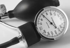 Máquina de la presión arterial Imagen de archivo
