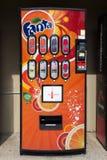 Máquina de la soda de Fanta Fotografía de archivo