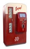 Máquina de la soda de la vendimia Imagenes de archivo