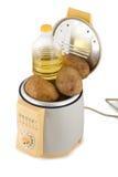 Máquina de las patatas fritas Fotografía de archivo