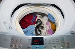 Máquina de lavar Imagens de Stock Royalty Free