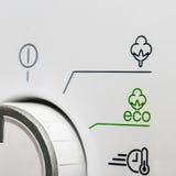 Máquina de lavar amigável de Eco fotos de stock royalty free