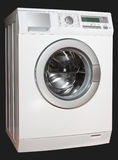 Máquina de lavar da esquerda Fotos de Stock Royalty Free
