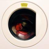 Máquina de lavar - girando Imagem de Stock Royalty Free