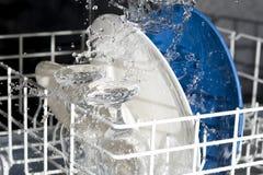 Máquina de lavar louça Imagens de Stock