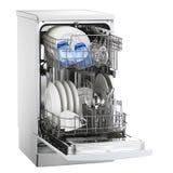 Máquina de lavar louça Fotografia de Stock Royalty Free