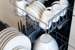 Máquina de lavar louça Fotos de Stock Royalty Free